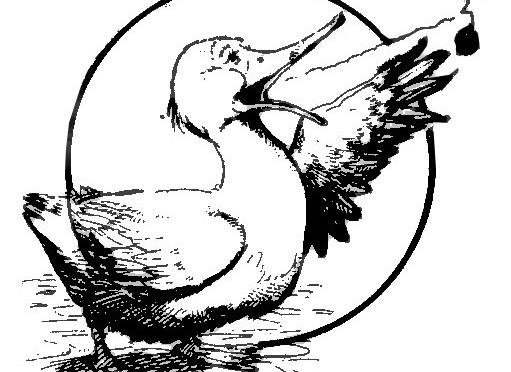 """Premier """"logo"""" du Canard- Février 1983. Dépoussiérage par SIX L."""