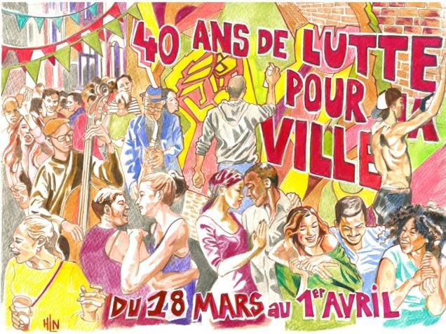 40 ans de lutte pour la ville, la fête de l'APU