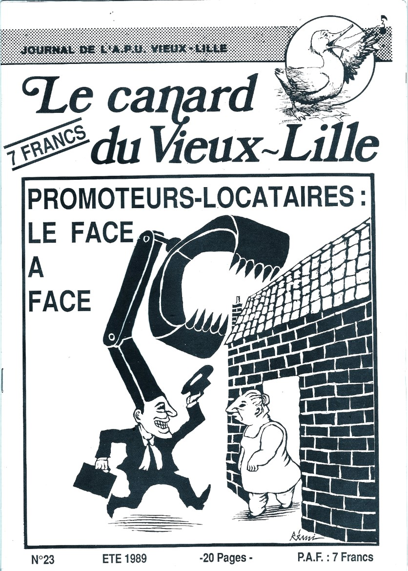Le canard du Vieux Lille
